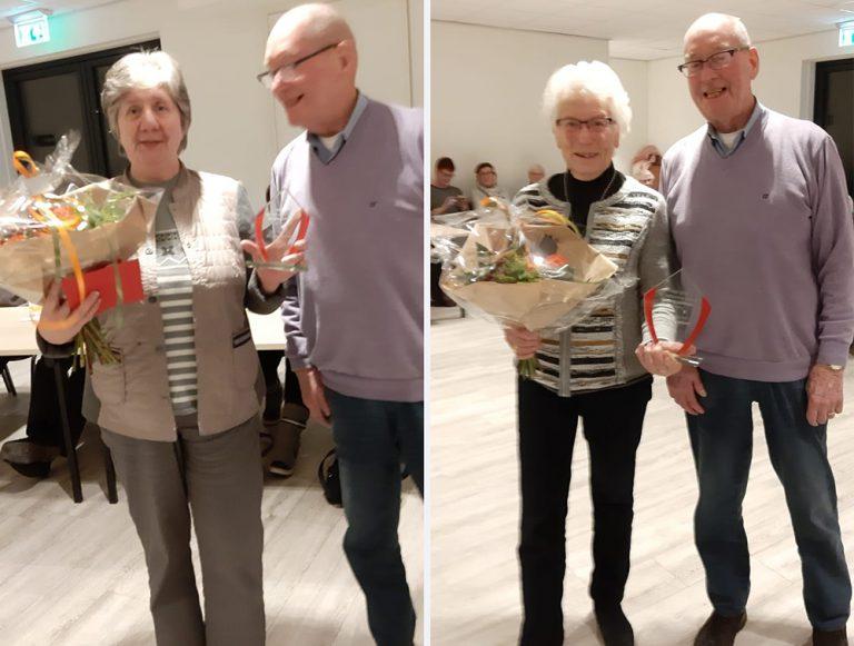Huldiging leden Cornecanters Ingen, 28 januari 2019